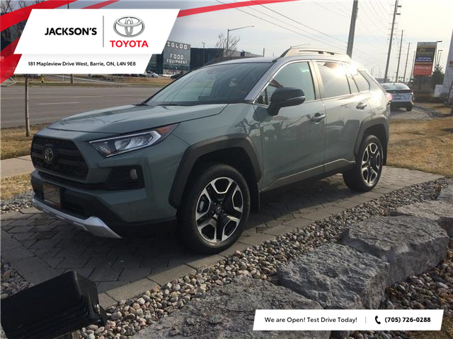 2021 Toyota RAV4 Trail (Stk: 12296) in Barrie - Image 1 of 13