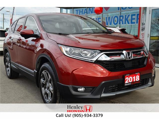 2018 Honda CR-V LEATHER   BLUETOOTH   HEATED SEATS (Stk: B1021) in St. Catharines - Image 1 of 24