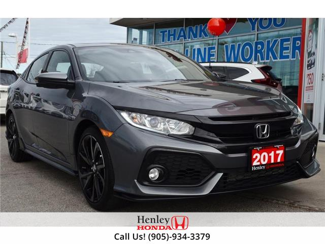2017 Honda Civic Hatchback w/Honda Sensing (Stk: R9997) in St. Catharines - Image 1 of 24