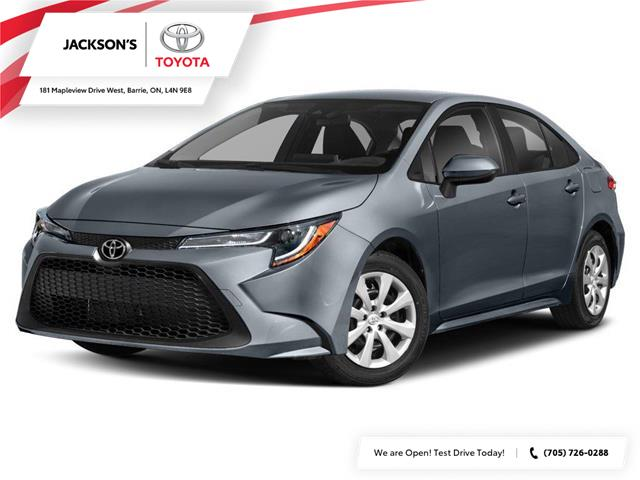 2020 Toyota Corolla L (Stk: 7253) in Barrie - Image 1 of 9