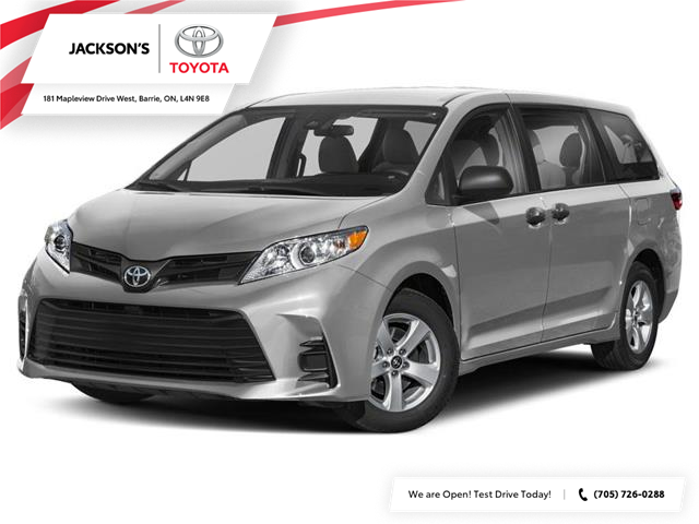 2020 Toyota Sienna LE 8-Passenger (Stk: 1500) in Barrie - Image 1 of 9