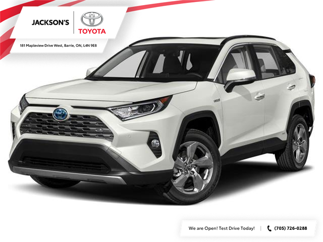 2021 Toyota RAV4 Hybrid Limited (Stk: 16233) in Barrie - Image 1 of 9