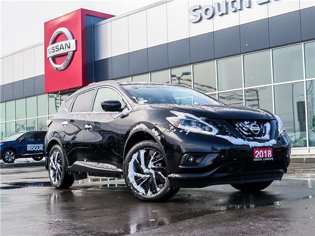 2018 Nissan Murano SL (Stk: L20080-1) in London - Image 1 of 26