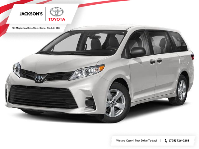 2020 Toyota Sienna LE 8-Passenger (Stk: 358) in Barrie - Image 1 of 9