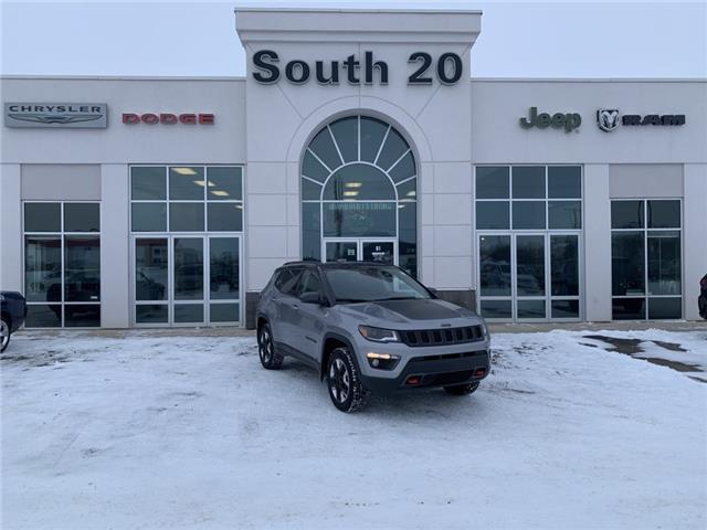2017 Jeep Compass Trailhawk (Stk: B0154) in Humboldt - Image 1 of 23