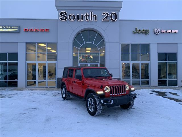 2019 Jeep Wrangler Unlimited Sahara (Stk: B0153) in Humboldt - Image 1 of 22