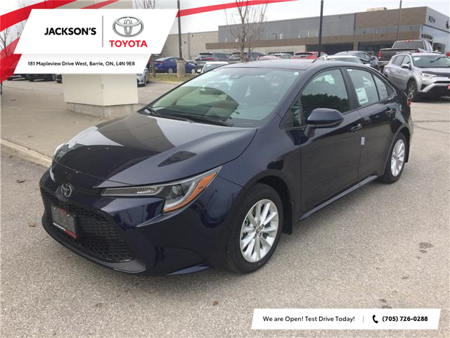 2021 Toyota Corolla LE (Stk: 16250) in Barrie - Image 1 of 14