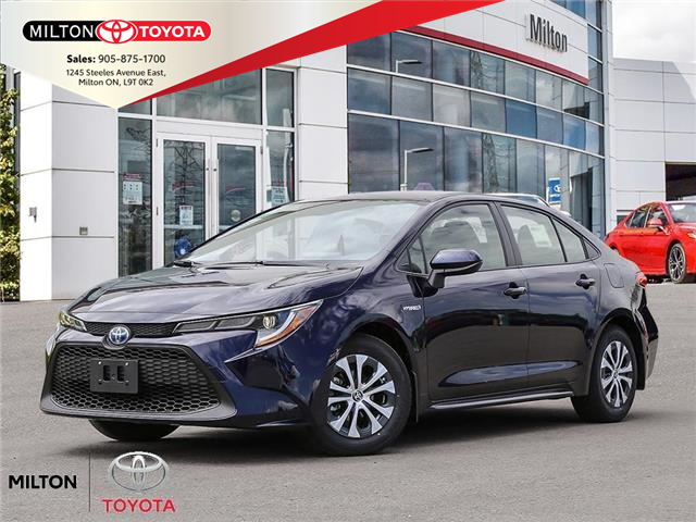 2021 Toyota Corolla Hybrid Base w/Li Battery (Stk: 013342) in Milton - Image 1 of 23