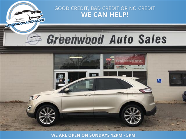 2018 Ford Edge Titanium (Stk: 18-69040) in Greenwood - Image 1 of 25