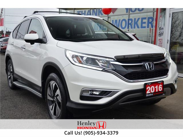 2016 Honda CR-V NAV | LEATHER | REAR CAM | HEATED SEATS (Stk: R9982A) in St. Catharines - Image 1 of 29