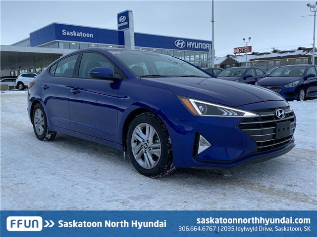 2019 Hyundai Elantra Preferred (Stk: B7743) in Saskatoon - Image 1 of 13