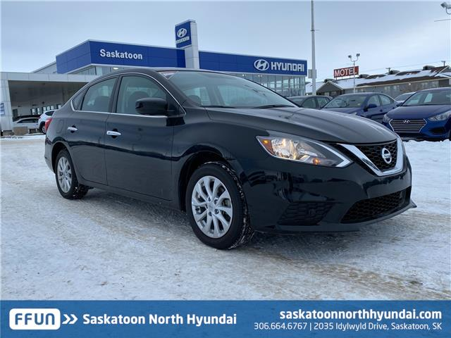2019 Nissan Sentra 1.8 SV 3N1AB7APXKY262431 B7727 in Saskatoon