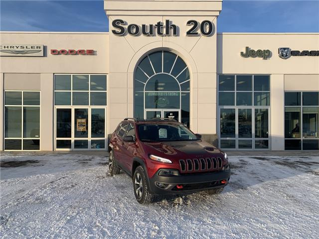 2017 Jeep Cherokee Trailhawk (Stk: 40023A) in Humboldt - Image 1 of 22