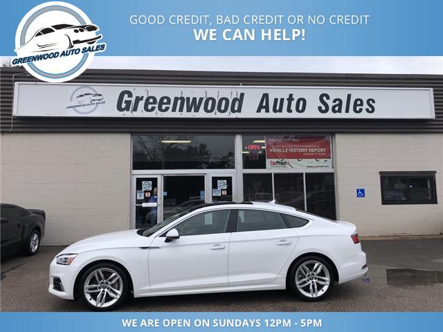 2019 Audi A5 45 Komfort (Stk: 19-79576) in Greenwood - Image 1 of 24