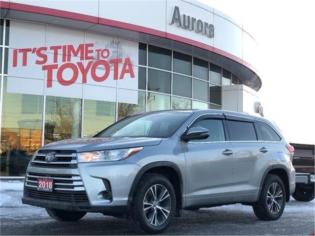 2018 Toyota Highlander  (Stk: 321691) in Aurora - Image 1 of 22