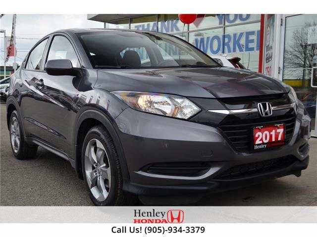 2017 Honda HR-V BLUETOOTH | REAR CAM | HEATED SEATS (Stk: R10030) in St. Catharines - Image 1 of 20