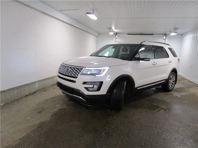 2017 Ford Explorer Platinum (Stk: 1890011 ) in Regina - Image 1 of 39