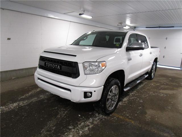 2017 Toyota Tundra Platinum 5.7L V8 (Stk: 1930761 ) in Regina - Image 1 of 39