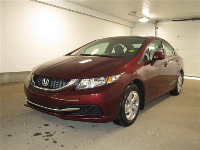 2013 Honda Civic LX (Stk: 1936621) in Regina - Image 1 of 26