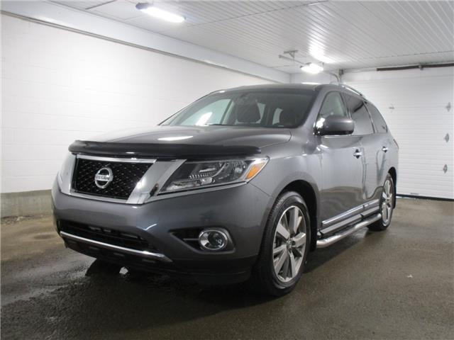 2015 Nissan Pathfinder Platinum (Stk: 1837532) in Regina - Image 1 of 34