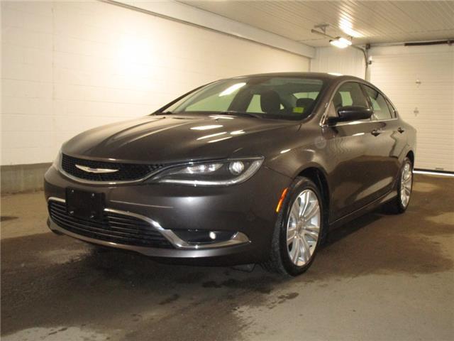 2015 Chrysler 200 Limited (Stk: F170630) in Regina - Image 1 of 33