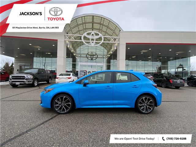 2021 Toyota Corolla Hatchback Base (Stk: 16957A) in Barrie - Image 1 of 7