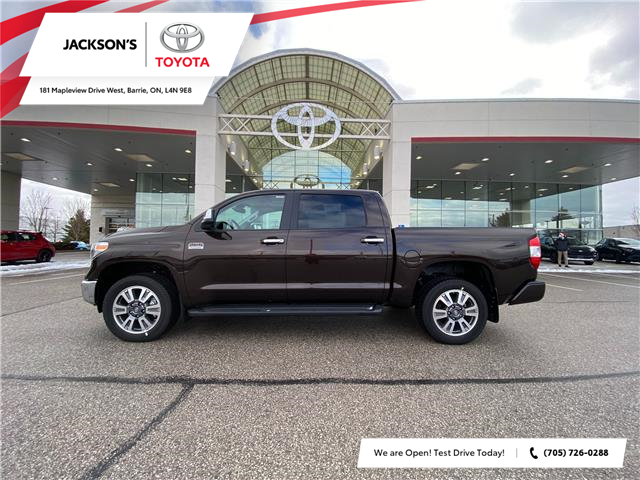 2021 Toyota Tundra Platinum (Stk: 18267) in Barrie - Image 1 of 9