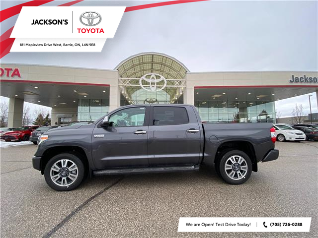 2021 Toyota Tundra Platinum (Stk: 18961) in Barrie - Image 1 of 8