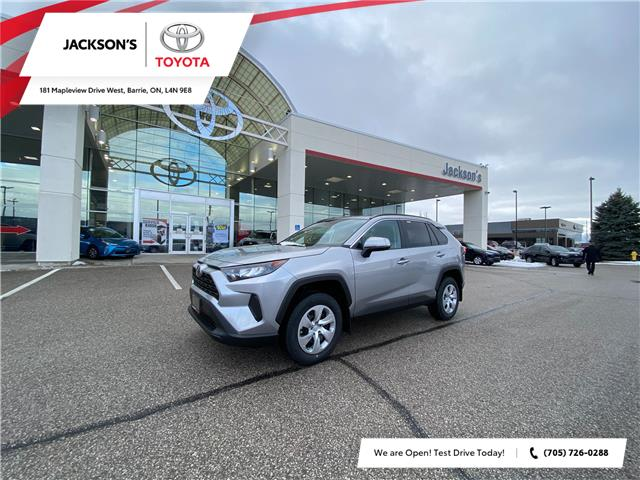2021 Toyota RAV4 LE (Stk: 19266) in Barrie - Image 1 of 7