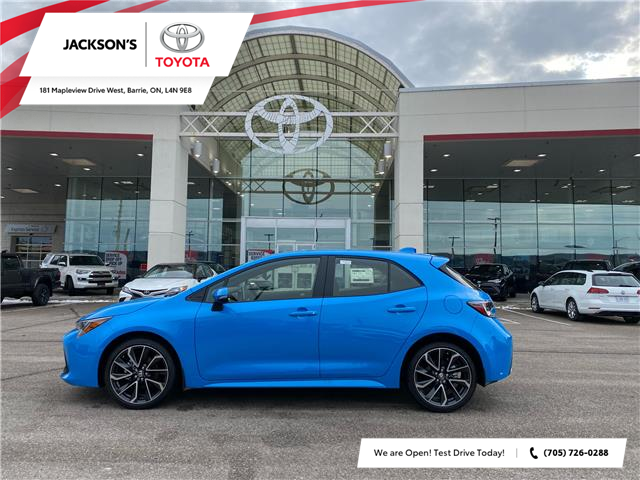 2021 Toyota Corolla Hatchback Base (Stk: 17037) in Barrie - Image 1 of 8