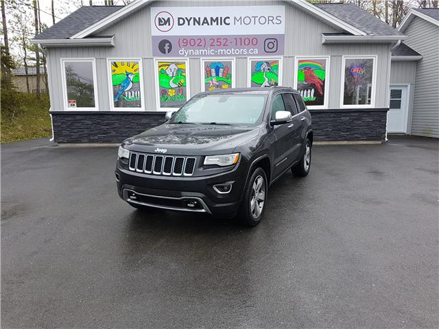 2015 Jeep Grand Cherokee Overland (Stk: 00123) in Middle Sackville - Image 1 of 28