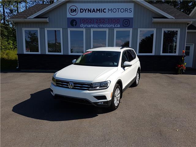 2018 Volkswagen Tiguan Trendline (Stk: 00148) in Middle Sackville - Image 1 of 27