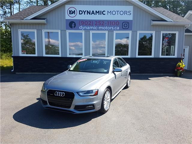 2016 Audi A4 2.0T Komfort plus (Stk: 00154) in Middle Sackville - Image 1 of 24