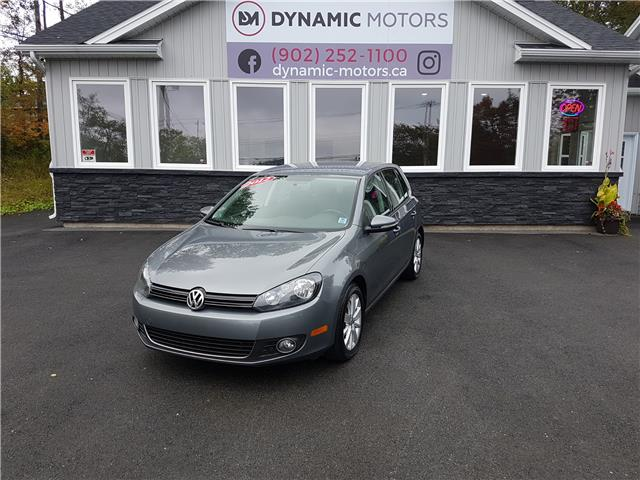 2012 Volkswagen Golf 2.0 TDI Comfortline (Stk: 00183) in Middle Sackville - Image 1 of 25