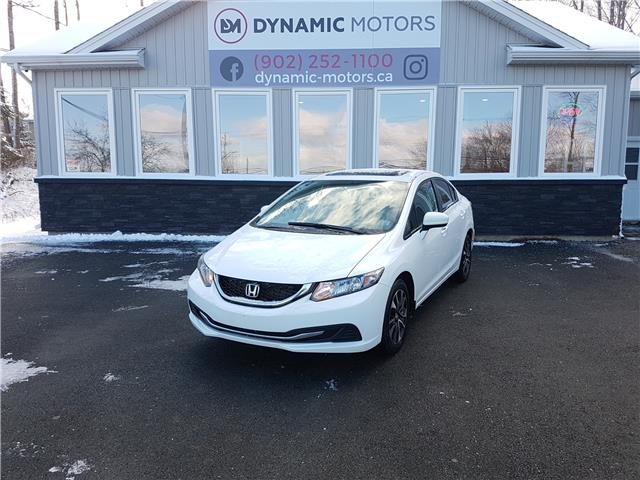 2014 Honda Civic EX (Stk: 00224) in Middle Sackville - Image 1 of 25