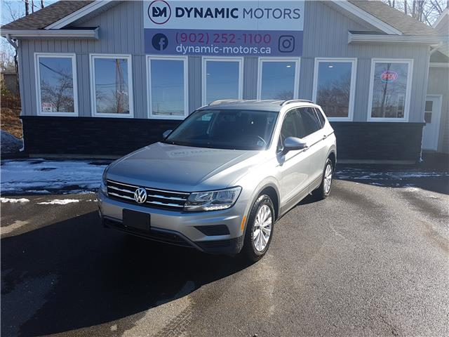 2019 Volkswagen Tiguan Trendline (Stk: 00266) in Middle Sackville - Image 1 of 28