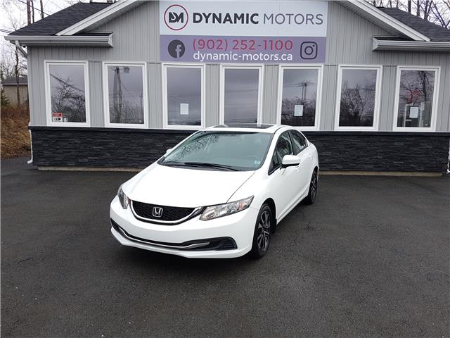 2015 Honda Civic EX (Stk: 00270) in Middle Sackville - Image 1 of 27