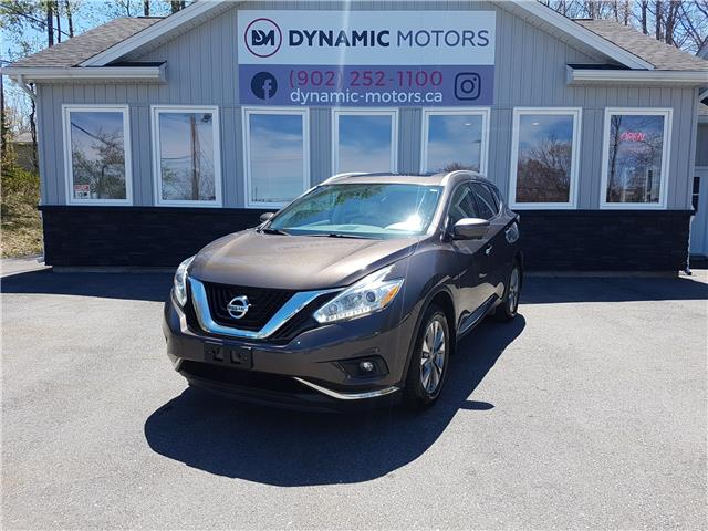 2016 Nissan Murano SL (Stk: 00291) in Middle Sackville - Image 1 of 26