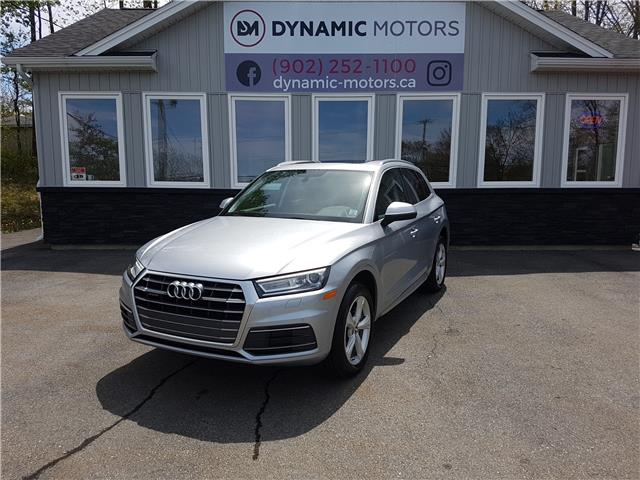 2018 Audi Q5 2.0T Progressiv (Stk: 00296) in Middle Sackville - Image 1 of 30