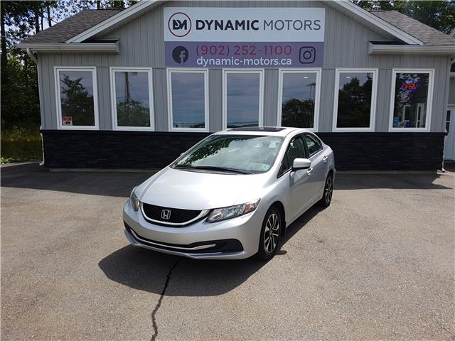 2015 Honda Civic EX (Stk: 00340) in Middle Sackville - Image 1 of 25