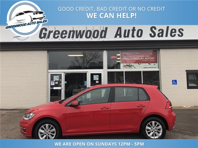 2018 Volkswagen Golf 1.8 TSI Comfortline (Stk: 18-85249) in Greenwood - Image 1 of 23