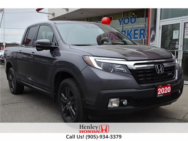 2020 Honda Ridgeline BLUETOOTH | REAR CAM | HEATED SEATS (Stk: B1031) in St. Catharines - Image 1 of 26