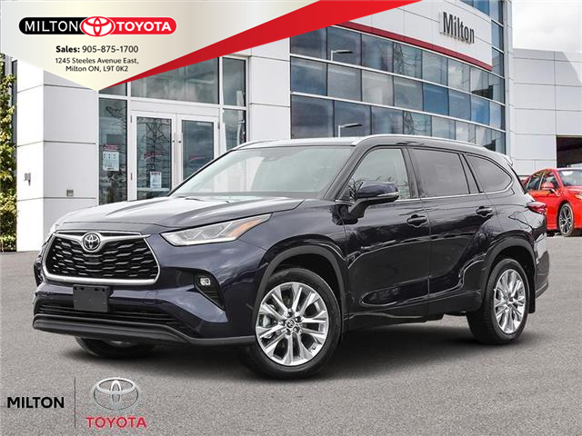 2021 Toyota Highlander Limited (Stk: 075433) in Milton - Image 1 of 23