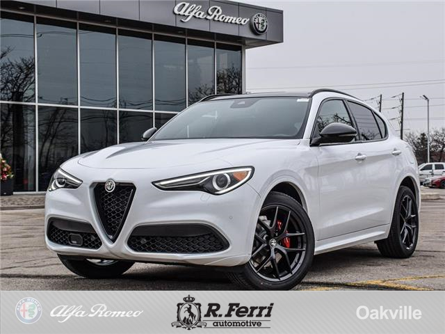 2021 Alfa Romeo Stelvio ti (Stk: 486AR) in Oakville - Image 1 of 27