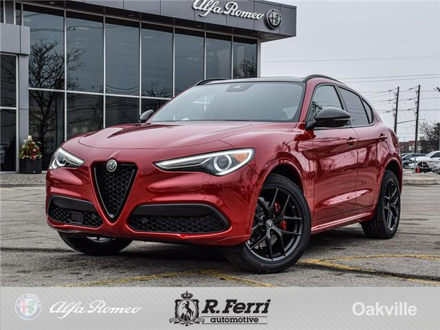 2021 Alfa Romeo Stelvio ti (Stk: 490AR) in Oakville - Image 1 of 27