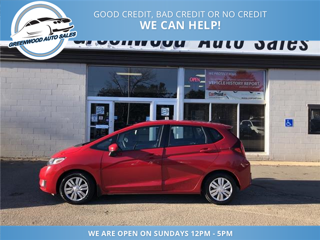 2016 Honda Fit LX (Stk: 16-06006) in Greenwood - Image 1 of 17
