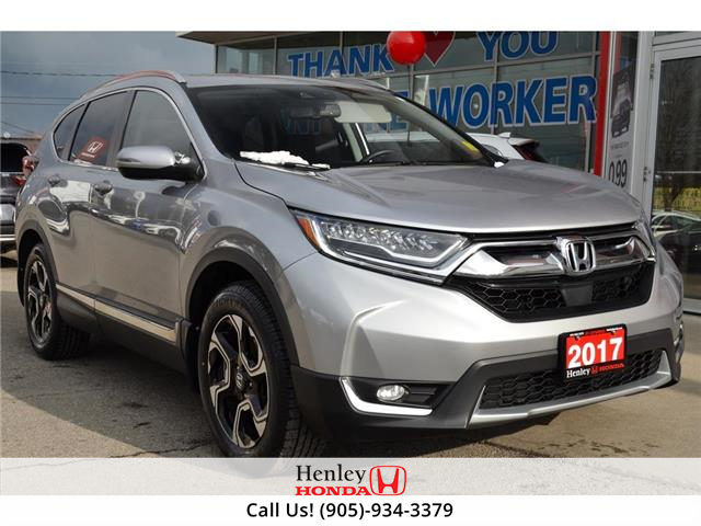 2017 Honda CR-V NAV | LEATHER | REAR CAM | HEATED SEATS (Stk: R10052) in St. Catharines - Image 1 of 30