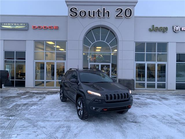 2018 Jeep Cherokee Trailhawk (Stk: 41014A) in Humboldt - Image 1 of 22