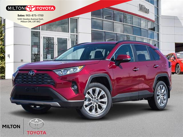 2021 Toyota RAV4 Limited (Stk: 176308) in Milton - Image 1 of 10
