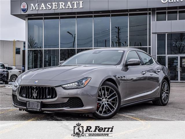 2017 Maserati Ghibli S Q4 (Stk: U584) in Oakville - Image 1 of 30